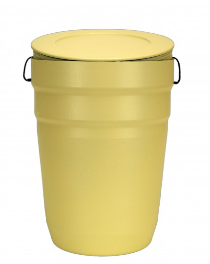 As capsule urn geel
