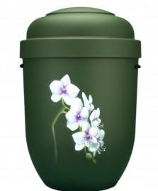 Exclusieve urn met bloem